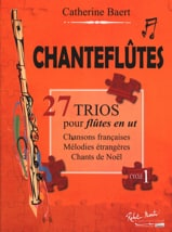 Chanteflûtes - 3 Flûtes Catherine Baert Partition laflutedepan.com