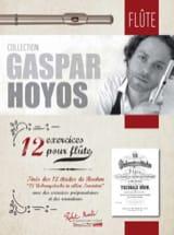 12 Exercices pour Flûte - Gaspar Hoyos - Partition - laflutedepan.com
