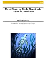 Cécile Chaminade - 3 Pieces - Flute and Piano - Sheet Music - di-arezzo.co.uk