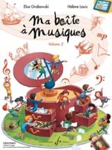 Ma Boîte à Musiques Volume 2 Partition Solfèges - laflutedepan.com
