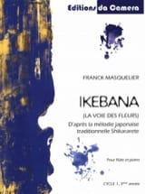 Ikebana - Flûte et Piano Franck Masquelier Partition laflutedepan.com