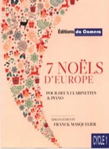 - 7 European Christmas - 2 Clarinets and Piano - Sheet Music - di-arezzo.com