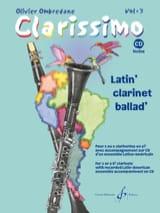 Clarissimo Volume 3 Olivier Ombredane Partition laflutedepan.com