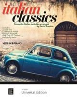- Italian Classics - Violin and Piano - Sheet Music - di-arezzo.co.uk