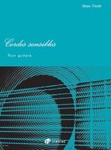 Cordes Sensibles - Guitare Alain Vérité Partition laflutedepan.com