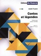 André Telman - Contes et Légendes - 4 Flûtes - Partition - di-arezzo.fr