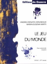 Le Jeu du Monde - Violoncelle et Piano laflutedepan.com