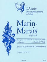 Marin Marais - Musette and Village Branle - Sheet Music - di-arezzo.com