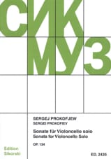 Serge Prokofiev - Sonata Opus 134 - Sheet Music - di-arezzo.co.uk