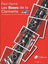 Les Bases de la Clarinette Paul Harris Partition laflutedepan.com
