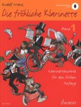 Rudolf Mauz - Die Fröhliche Klarinette - Vol. 1 - Sheet Music - di-arezzo.co.uk