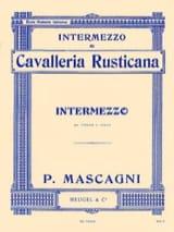 Intermezzo extr. Cavalleria Rusticana Pietro Mascagni laflutedepan.com