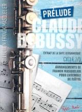 Prélude - Ensemble de Flûtes Claude Debussy Partition laflutedepan.com