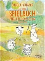 Das Grosse Spielbuch - 3 Flûtes à Bec Rudolf Schäfer laflutedepan