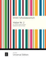 Dmitri Chostakovitch - Valse n° 2 - Flûte et Piano - Partition - di-arezzo.fr
