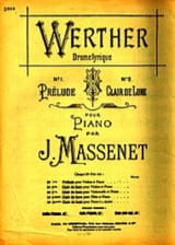 Jules Massenet - Moonlight, extr. from Werther - Sheet Music - di-arezzo.com