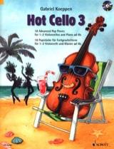 Hot Cello 3 Gabriel Koeppen Partition Violoncelle - laflutedepan.com
