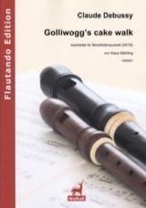 DEBUSSY - Golliwogg's CakeWalk - 4 Flûtes à Bec - Partition - di-arezzo.fr