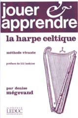 Jouer et apprendre la Harpe Celtique Denise Mégevand laflutedepan.com