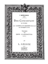 Duo concertant op. 114 ré mineur MENDELSSOHN laflutedepan.com
