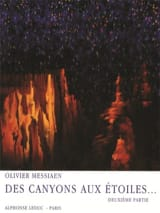 Olivier Messiaen - Canyons In The Stars - Part 2 - Sheet Music - di-arezzo.co.uk