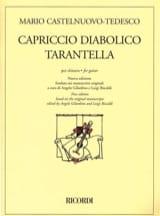 Mario Castelnuovo-Tedesco - Capriccio Diabolico - Tarantella - Partitura - di-arezzo.it