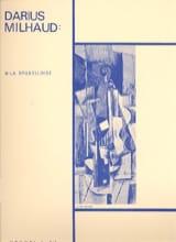 4 Visages - N° 3 - la Bruxelloise Darius Milhaud laflutedepan.com