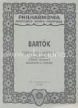 BARTOK - String Quartet N ° 2 Opus 17 - Sheet Music - di-arezzo.co.uk