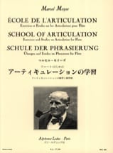 Marcel Moyse - School of articulation - Flute - Sheet Music - di-arezzo.co.uk