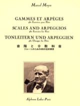 Marcel Moyse - Ranges and Arpeggios - Sheet Music - di-arezzo.co.uk