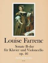 Sonate, op. 46 - Violoncelle et Piano Louise Farrenc laflutedepan.com