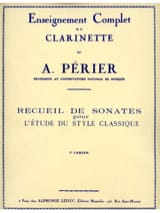Auguste Périer - Sonata Collection - Volume 3 - Sheet Music - di-arezzo.com