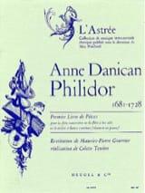 1er Livre de pièces – Flûte Bc Anne Danican-Philidor laflutedepan.com