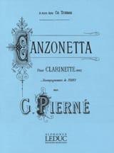 Canzonetta op. 19 Gabriel Pierné Partition laflutedepan.com