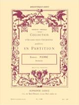 Pastorale op. 14 n° 1 -Conducteur + parties laflutedepan.com