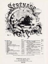 Sérénade Opus 7 Gabriel Pierné Partition Violon - laflutedepan.com