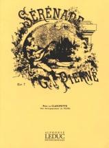 Sérénade op. 7 - Clarinette Gabriel Pierné Partition laflutedepan.com