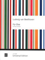Für Elise Albumblatt) - Flöte Klavier BEETHOVEN laflutedepan.com