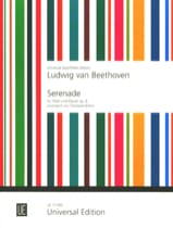 Sérénade, op. 8 - Flöte Klavier BEETHOVEN Partition laflutedepan.com
