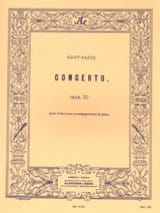 Camille Saint-Saëns - Violin Concerto op. 20 - Sheet Music - di-arezzo.co.uk