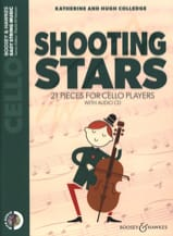 Shooting Stars - Cello + CD Katherine & Hugue Colledge laflutedepan