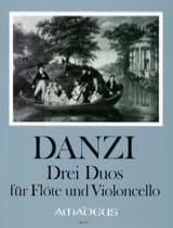 3 Duos, op. 64 Franz Danzi Partition Duos - laflutedepan.com