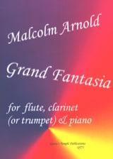 Grand Fantasia Malcolm Arnold Partition Trios - laflutedepan.com