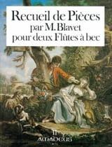 Michel Blavet - 1st Book of Parts - Vol. 2 - Sheet Music - di-arezzo.co.uk