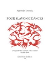 4 Danses Slaves Antonin Dvorak Partition Clarinette - laflutedepan.com