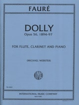 Gabriel Fauré - Dolly, opus 56 - Sheet Music - di-arezzo.com