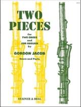 Gordon Jacob - 2 Pièces - Partition - di-arezzo.fr