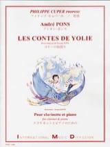Les Contes de Yolie André Pons Partition Clarinette - laflutedepan.com