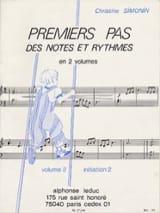 Premiers pas des notes et ryth. - Volume 2 laflutedepan.com