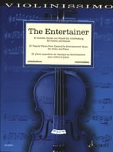 - The Entertainer - Violon et Piano - Partition - di-arezzo.fr